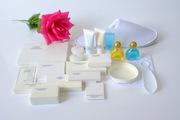 Для гостиниц и баз отдыха - мыло,  тапочки,  шампунь,  зубные щетки и т.д